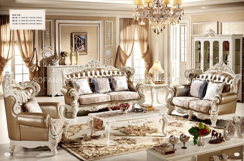 Không chỉ sang trọng, sofa cổ điển còn đẹp tinh tế đến từng chi tiết nhỏ xíu