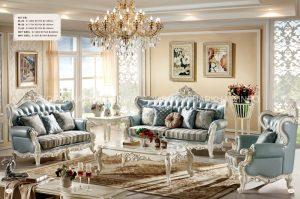 Sofa cổ điển mang đến vẻ đẹp quý tộc cho phòng khách của bạn