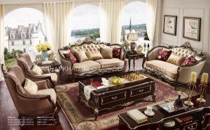 Sofa cổ điển phòng khách với sự đẳng cấp vượt trội đã trở thành một giấc mơ mà nhiều người mong muốn sở hữu