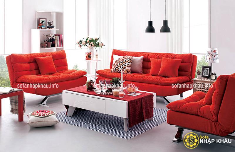 Bộ bàn ghế sofa hiện đại tăng diện tích phòng khách