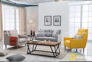 Chọn ghế sofa đẹp có khung xương chắc chắn vf độ đàn hồi lò xo tốt, đường chỉ may nuột nà