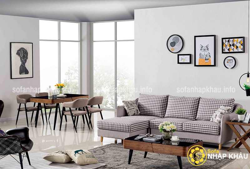 Chọn ghế sofa bền đẹp dựa trên chất liệu để tạo nên bộ ghế
