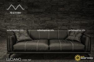 Mẫu ghế sofa văng dành cho căn phòng khách hiện đại diện tích nhỏ bởi thiết kế gọn gàng, tiện lợi