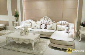 Ghế sofa cổ điển dành cho căn hộ cao cấp