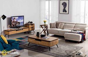 Ghế sofa góc thiết kế linh hoạt, dễ dàng bài trí trong bất kì căn phòng khách nào