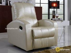 Mẫu ghế sofa thư giãn đơn phù hợp đặt trong phòng làm việc