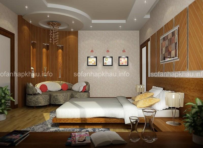 Kinh nghiệm trang trí phòng ngủ trần thấp chung cư đẹp