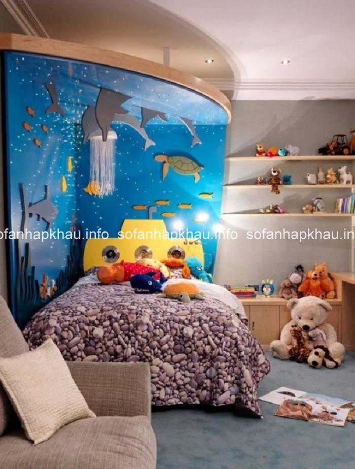 Trang trí phòng ngủ phát triển tính cách tích cực ở trẻ
