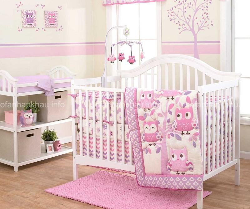 Những mẫu thiết kế nội thất phòng ngủ cho trẻ sơ sinh