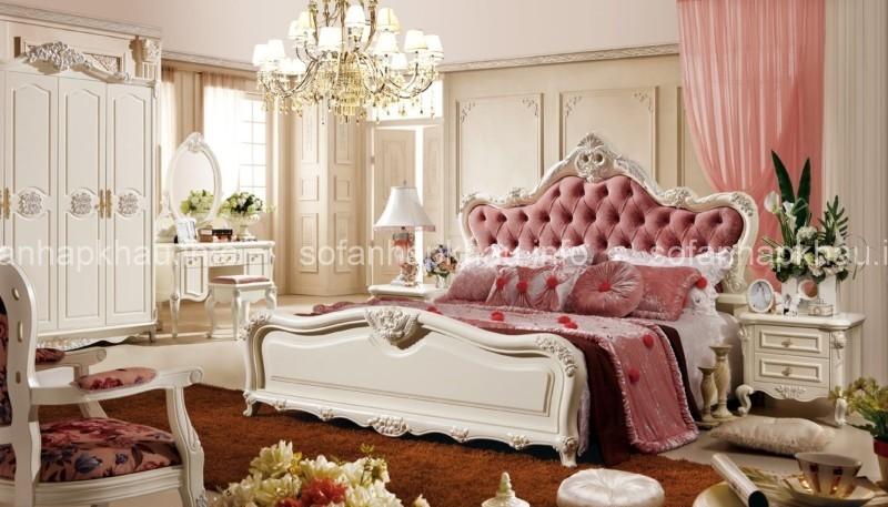 Phòng ngủ phong cách tân cổ điển Paris Style yêu kiều và quý phái