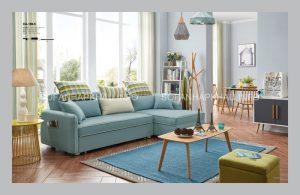 Bộ sofa nhập khẩu tốt có các đường chỉ may tinh tế, nuột nà